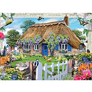 Wisteria Cottage 1000Pcs Jigsaw