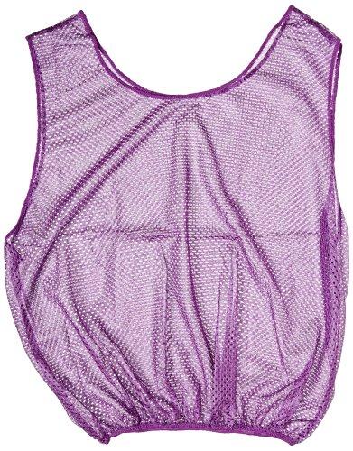 Sportime Mesh Scrimmage Vest - Adult Size - Purple