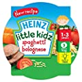Heinz Little Kidz Spaghetti Bolognese Pasta 230 g (Pack of 5)