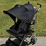 Sunshine Kids Shade Maker Canopy For Strollers, Black
