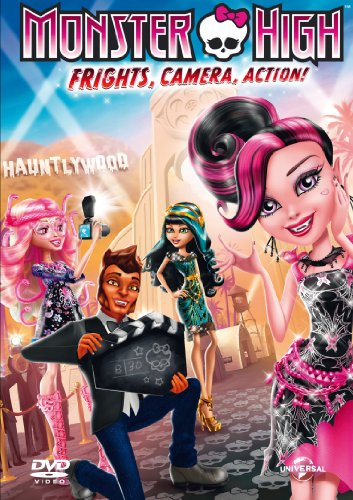 Monster High: Frights, Camera, Action [DVD + UV Copy] [2013]