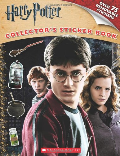Harry Potter and the Deathly Hallows Part I: Sticker Book (Harry Potter Movie Tie-In)