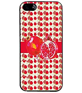 PrintDhaba Pomegranate D-2798 Back Case Cover for APPLE IPHONE 5 (Multi-Coloured)