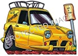 Koolart Sticker Decal 0200 Reliant Robin Large Ideal Christmas Or Birthday Gift