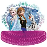 Disney Frozen Party Honeycomb Centrepiece Decoration