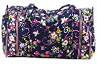 Vera Bradley Large Duffel in Ribbons