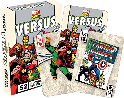 MarvelvsRetro Playing Cards