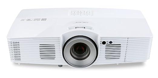 Acer V7500 RGBRGB 3D Full HD DLP-Projektor ( 2.500 ANSI Lumen, Full HD 1920 x 1080 Pixel, Kontrast 20.000:1, Ambient Light Sensor, Vertikaler Lens Shift ) weiß