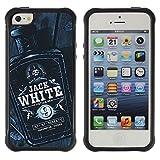 ZAKO CASE - Jack bouteille alcool le whisky Noir Blanc - Apple Iphone 5C - Coque Hous