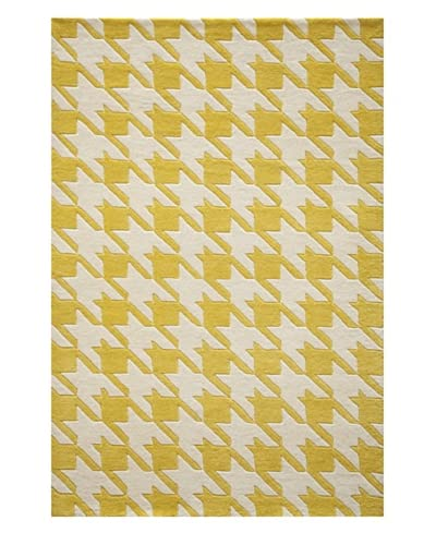 Momeni Delhi Collection Rug, Yellow, 5' x 8'