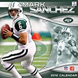 2012 NEW YORK JETS MARK SANCHEZ 12X12 WALL CALENDAR Perfect Timing - Turner