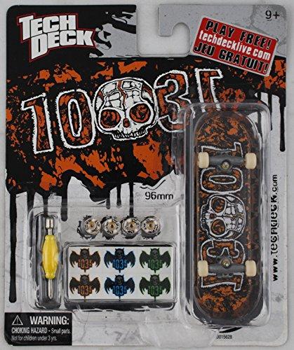 1-TECH-DECK-96mm-FINGERBOARD-1031-BOARD-OrangeBlack-Retired-New