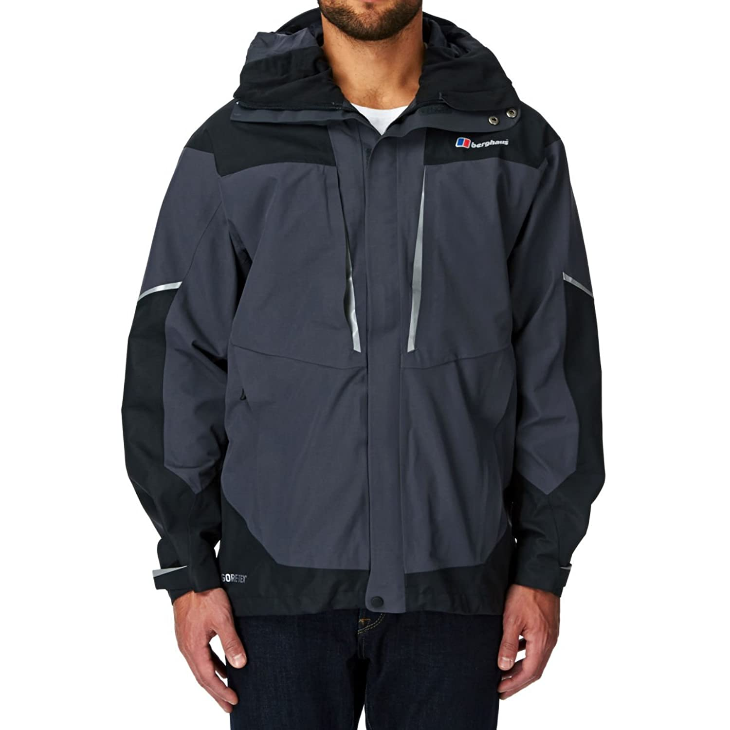 Berghaus Mera Peak Iv Jacket - Carbon / Black