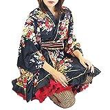 ■AD4142 サテン花柄よさこい着物 | 総おどり衣装 祭り用品 舞踊衣装