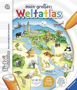 tiptoi® Kindersachbuch: tiptoi® Mein großer Weltatlas