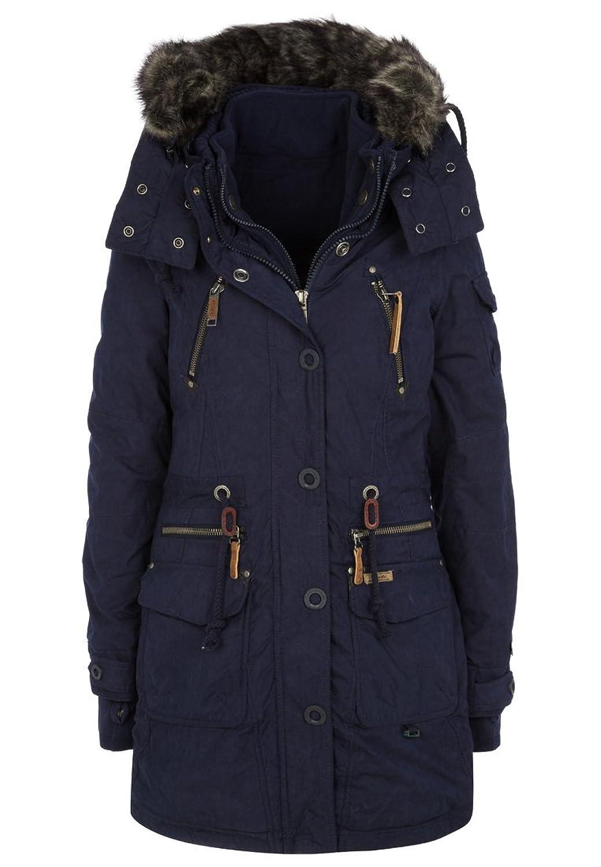 Khujo Damen Jacke Camilla blue Royal blau Winterjacke günstig online kaufen