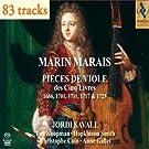 Marin Marais : 5 Livres pour Viole