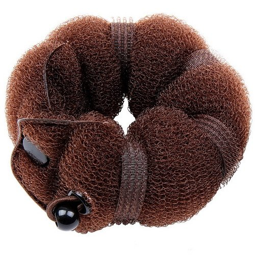 Goldrose-Beauty-Buns-2-Piece-Magic-Hair-Styling-Styler-Twist-Ring-Former-Shaper-Doughnut-Donut-Chignon-Bun-Maker-Clip-Hair-Curler-Accessory-Small-Large