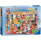 Ravensburger Best Of British Country Pub Jigsaw Puzzle, 1000 Pieces