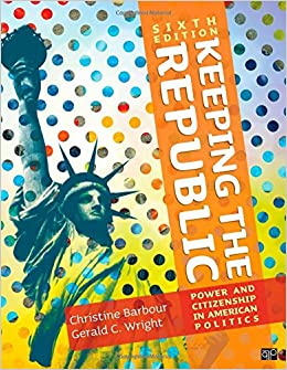 Book cover of  Keeping the Republic