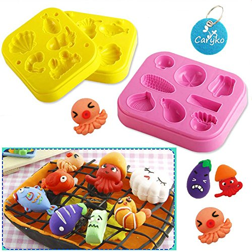 Caryko Barbecue 3D Play Dough Clay Modeling Tools for Kids (Bbq Tools Funny compare prices)