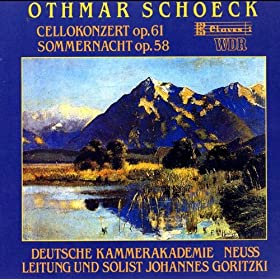 Summernight Op. 58 For Strings: Pastorales Intermezzo