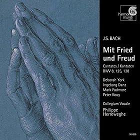 """Liebster Gott, wenn werd ich sterben, BWV 8: 3. Recitativo (A) """"Zwar f�hlt mein schwaches Herz"""""""