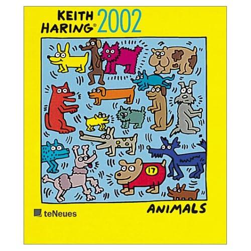 Keith Haring Animals Calendar: 2002: 9783898652308: Amazon.com: Books