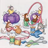 Dimensions Needlecrafts Counted Cross Stitch, Sew Busy
