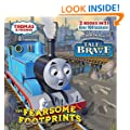 The Fearsome Footprints/Thomas the Brave [With Sticker(s)] (Thomas and Friends Pictureback)
