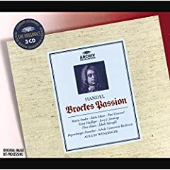 Handel: Brockes Passion (3 CDs)