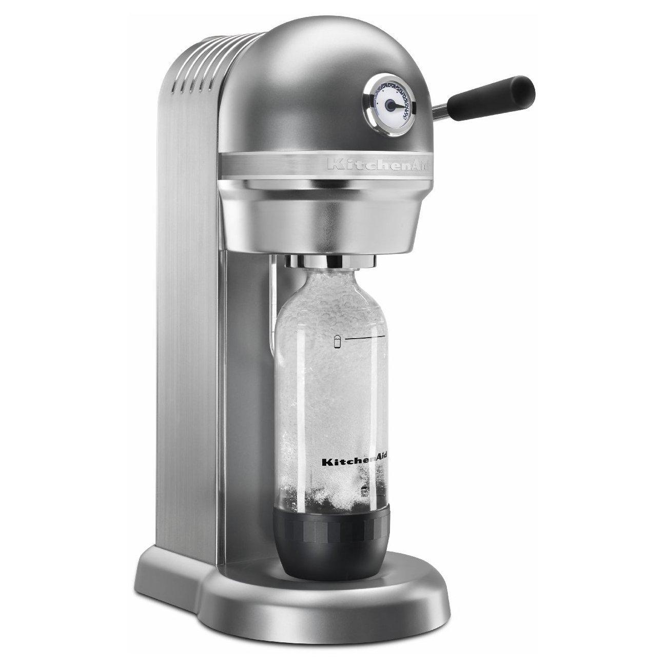 KitchenAid KSS1121CU Sparkling Beverage Maker, Contour Silver Via Amazon