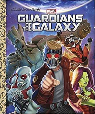 Guardians of the Galaxy (Marvel: Guardians of the Galaxy) (Little Golden Book) written by John Sazaklis
