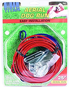 how to make a dog cable run