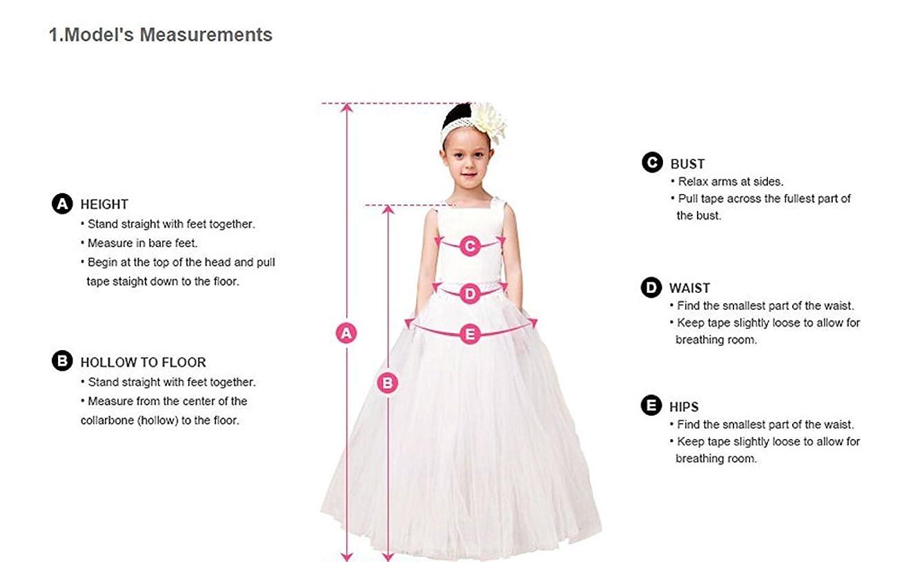Fancy A-line Lace Flower Girl Dress 2-12 Year Old 6
