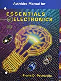 img - for Essentials Of Electronics, Activities Manual with MultiSIM CD-ROM book / textbook / text book