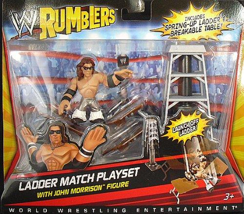 Buy Low Price Mattel JOHN MORRISON W/ LADDER MATCH ACCESSORIES – WWE RUMBLERS WWE TOY WRESTLING ACTION FIGURE (B004Y6MPEA)