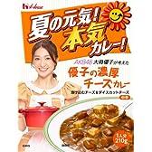 ハウス AKB48大島優子が考えた「優子の濃厚チーズカレー」中辛 210g×5個