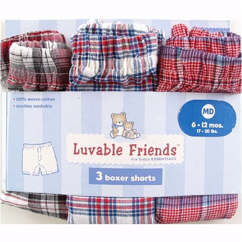 Baby's First Boxers - 3-Pack