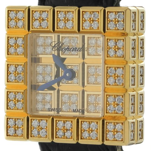 Chopard Ice Cube 934081 0.92ct Diamond 18K Yellow Gold Quartz Ladies Watch