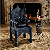Design Toscano The Dragon of Upminster Castle Halloween Throne Chair