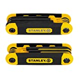 Stanley STHT71839 Folding Metric and Sae Hex Keys, 2-Pack