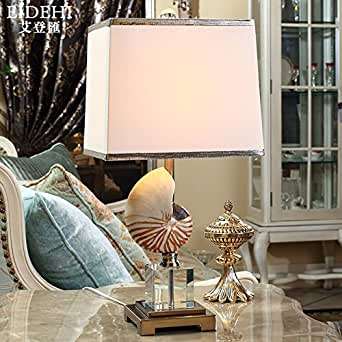 CRF Conch Lamp Living Room Bedroom Bedside Lamp Modern Minimalist Table L