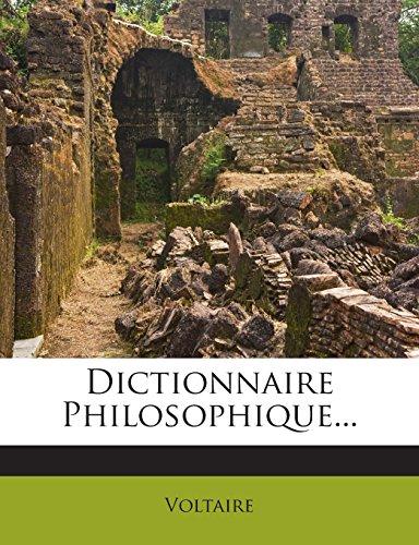 Dictionnaire Philosophique...