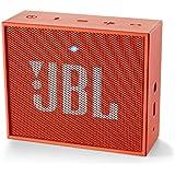 JBL GO Haut Parleur Ultra Portable avec Batterie Rechargeable et Connexion Bluetooth Compatible avec Smartphones, Tablettes et Appareils MP3 - Orange