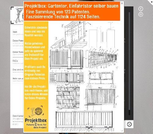 gartentor einfahrtstor selber bauen deine projektbox inkl 123 original patenten bringt dich. Black Bedroom Furniture Sets. Home Design Ideas