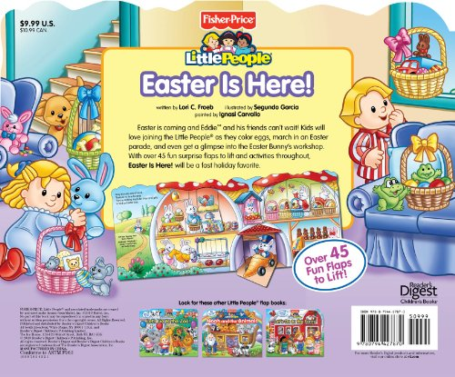 Easter Is Here!: Easter Is Here! (Fisher-Price Little People)