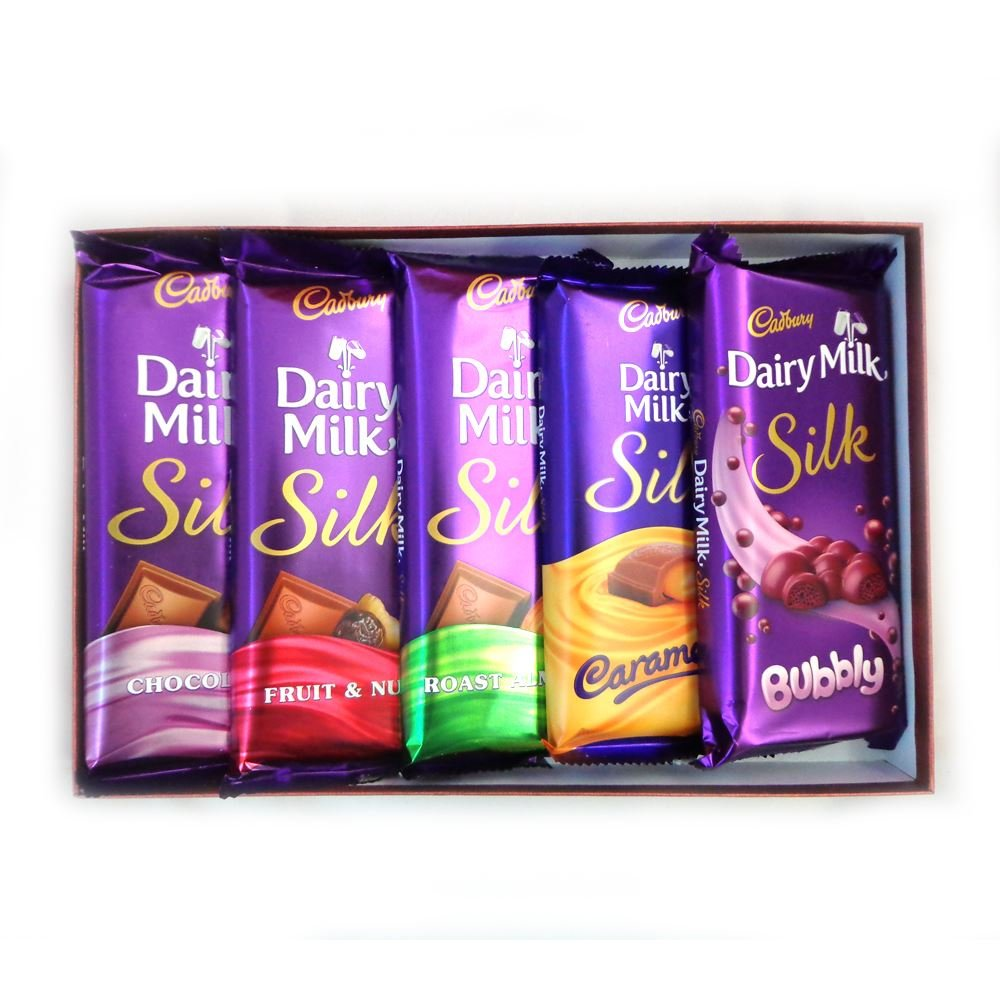 DEALS ON Cadbury Dairy Milk Silk Combo Pack (Pack Of 5) 270Gm