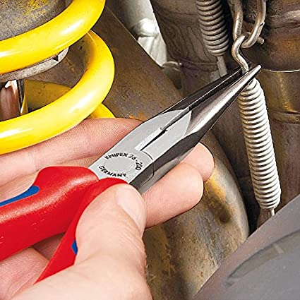 Knipex-26-11-200-Snipe-Nose-Side-Cutting-Plier