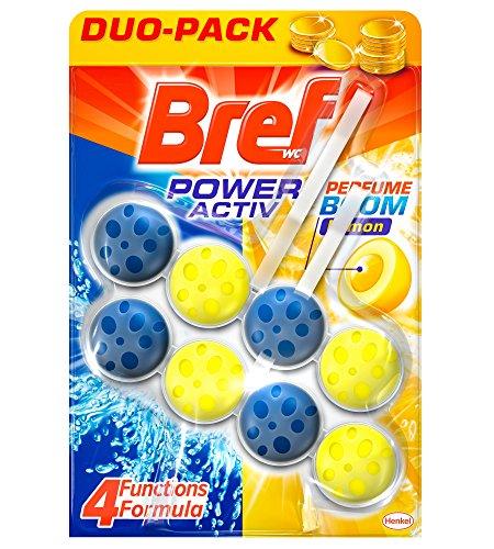 Bref poter attivo limone Cesto WC-Confezione di 2 x 50 gr-Totale: 100 g